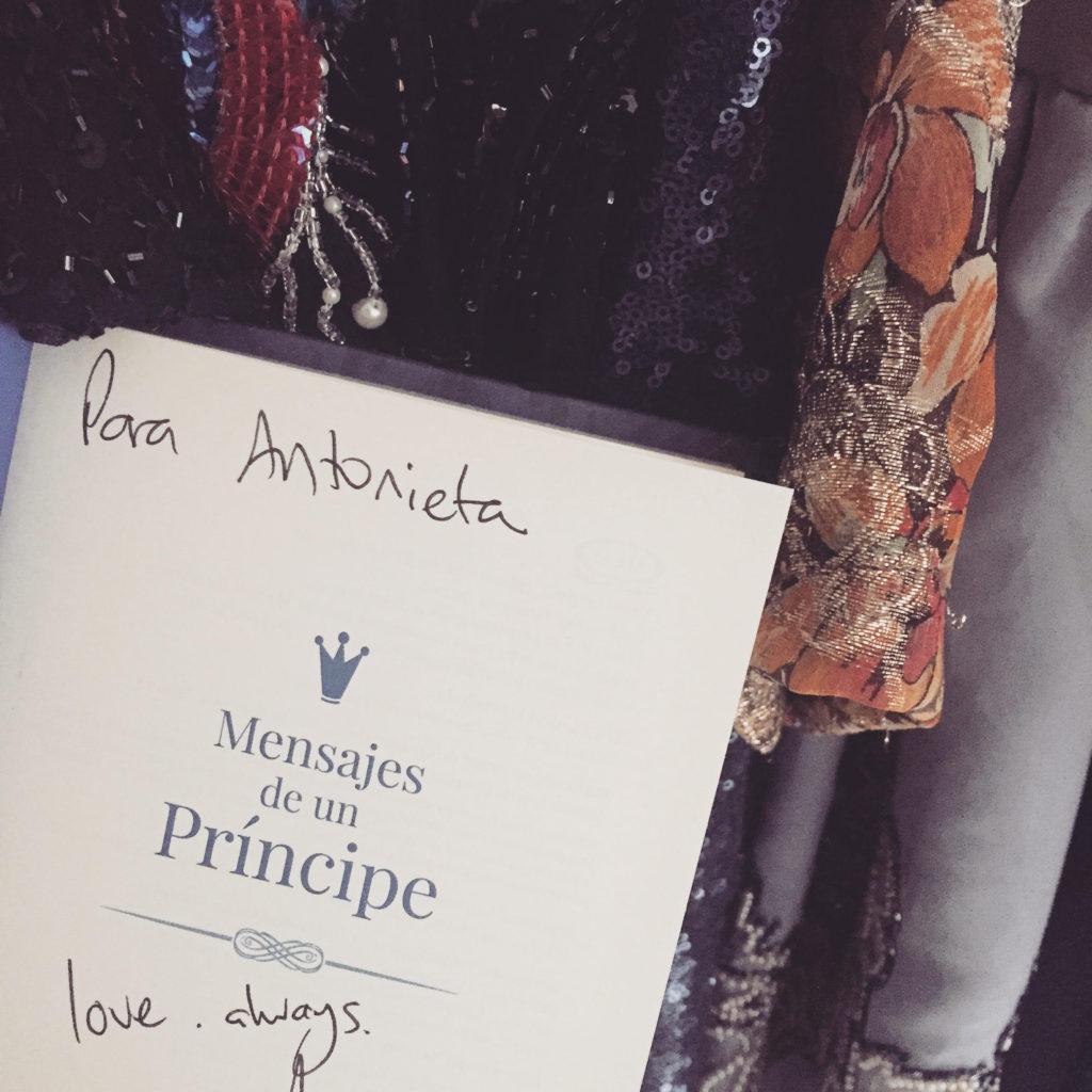 mensajes de un príncipe